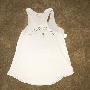 Tops - NWT engagement tank top